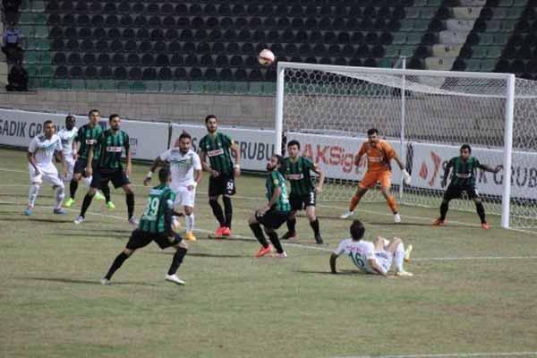 Denizlispor, Giresunspor ile golsüz berabere kaldı