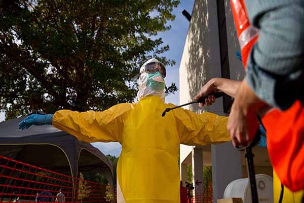 ABD'de yeni ebola şüphesi