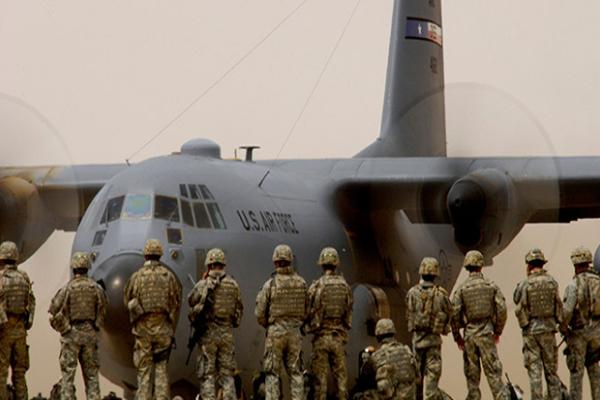 Erbil'deki üs ABD için boşaltılıyor