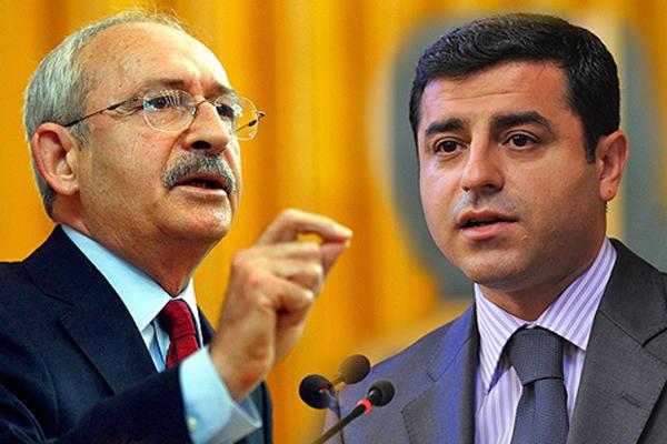 CHP lideri Kılıçdaroğlu HDP Başkanı Demirtaş'ı aradı