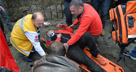 Ordu'da paraşüt kazası, 2 yaralı