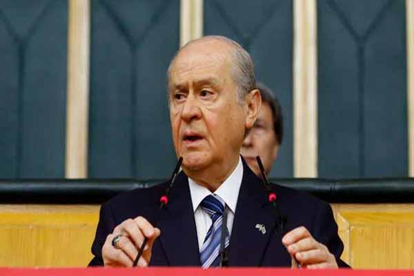 MHP lideri Devlet Bahçeli'den Papa'ya sert sözler