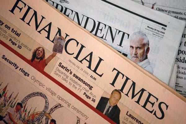 Financial Times, 7 Haziran seçimleri hakkında yazı yayınladı