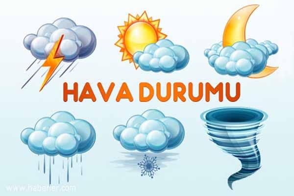 Türkiye geneli hava durumu, 13 Mayıs 2015