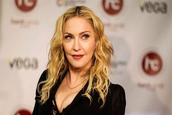 Madonna'nın görüntüsündeki bu detay gözlerden kaçmadı