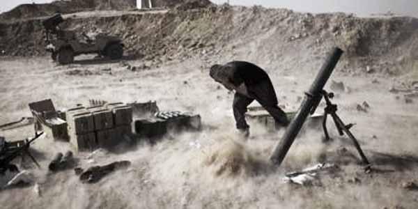 IŞİD'in attığı havan topu, Türkiye sınırına düştü