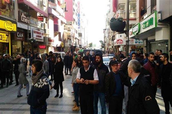 İzmir'de korkutan bomba ihbarı asılsız çıktı
