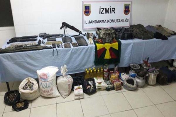 İzmir'de PKK'ya yönelik operasyonda patlayıcı düzeneyi imha edildi