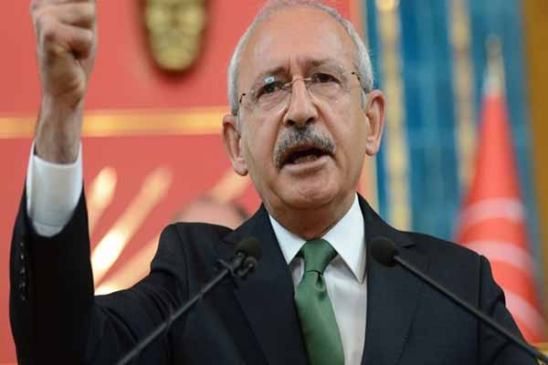 CHP Genel Başkanı Kemal Kılıçdaroğlu'ndan sert açıklamalar