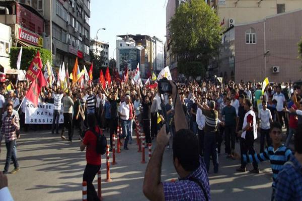 Kobani protestolarında dün gece neler yaşandı
