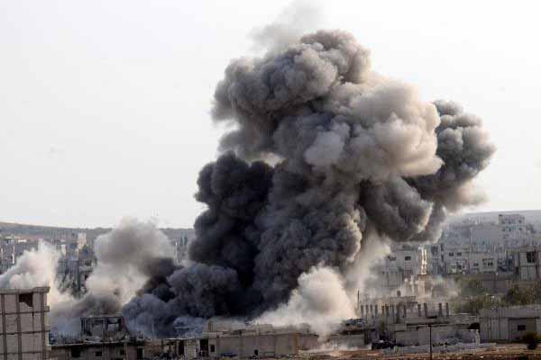 Kobani'de son durum, 15 Kasım 2014