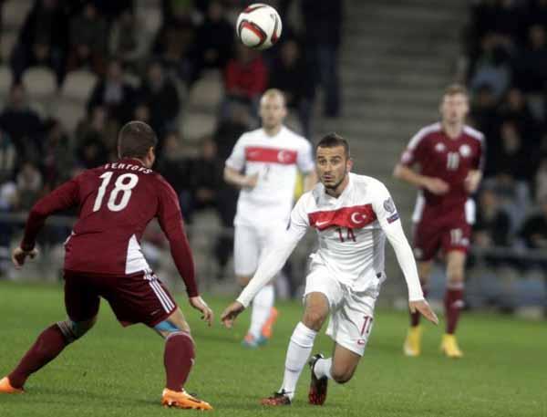 Türkiye, Letonya deplasmanından 1 puanla döndü