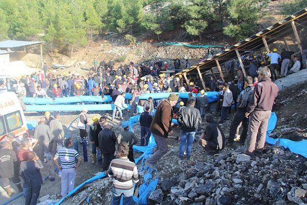 Maden ocağında 18 işçi mahsur kaldı