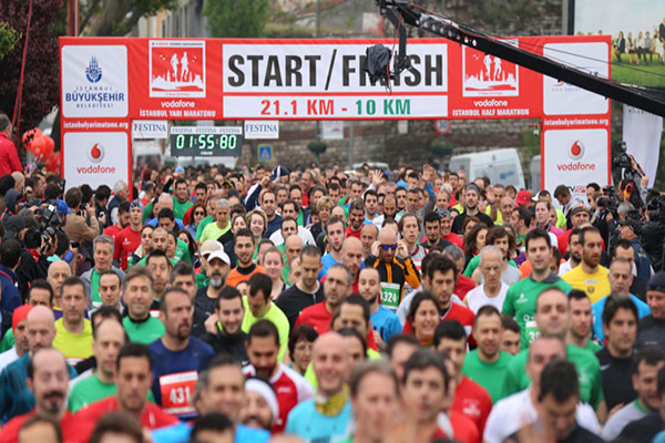 Pazar günü yapılacak Maraton'da hangi yollar kapalı