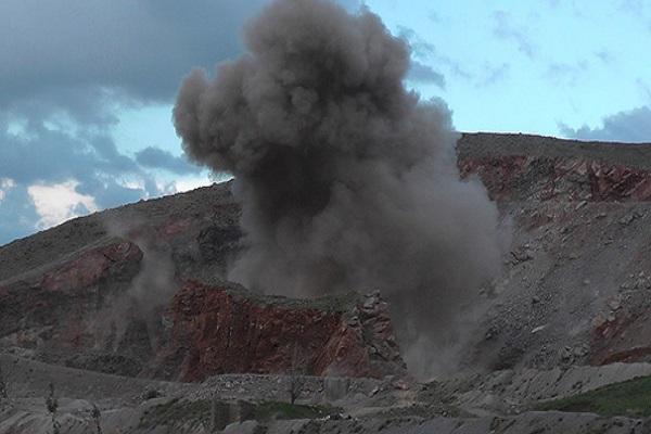 Muş Valiliği yakınında 1 ton patlayıcı bulundu