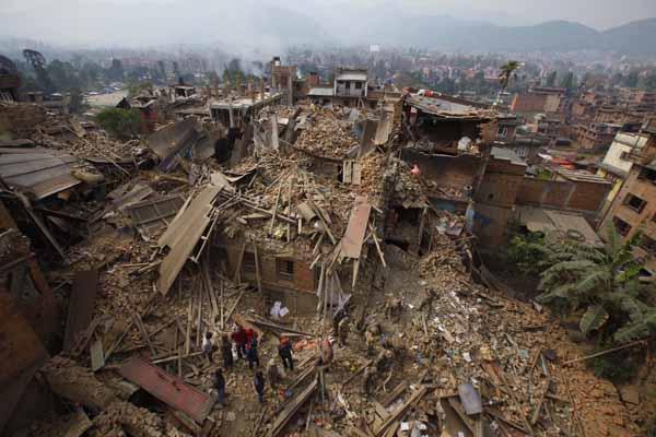 Deprem bölgesi Nepal'den son haberler