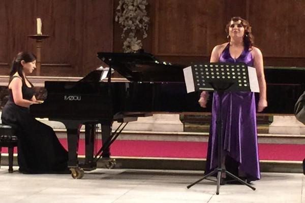 Opera sanatçısı Vasfiye Çakırtaş Çubukçu'dan Londra'da şan konseri