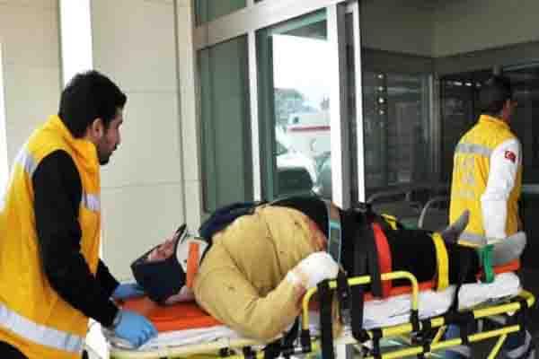 Samsun'da kaza, 3 yaralı