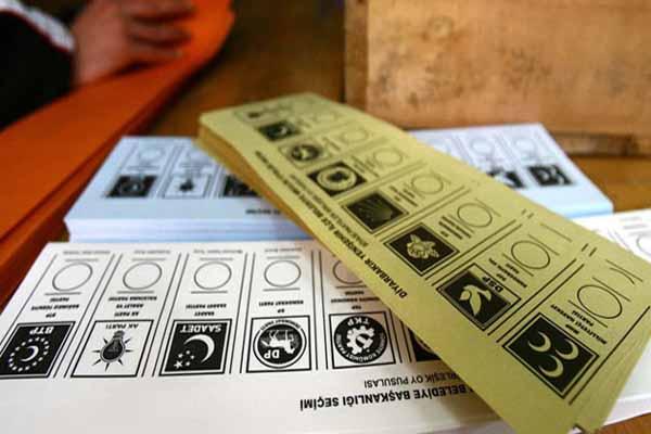 Partilerin oy pusulasındaki sıralaması değişti