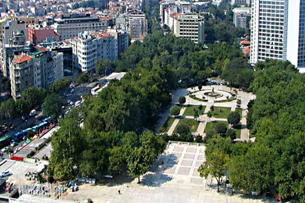 Taksim'de Gezi Parkı için olağanüstü önlem