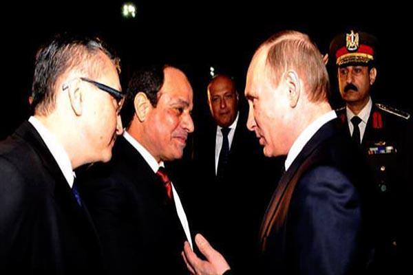 Vladimir Putin, 10 yıl sonra ilk defa Mısır'da