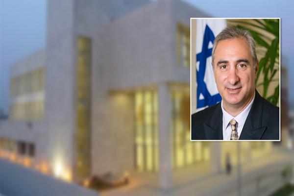 İsrail'in Ankara Büyükelçisi Naeh Türkiye'de