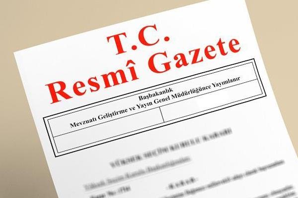 Yeni Kanun Hükmünde Kararnameler Resmi Gazete'de yayınlandı