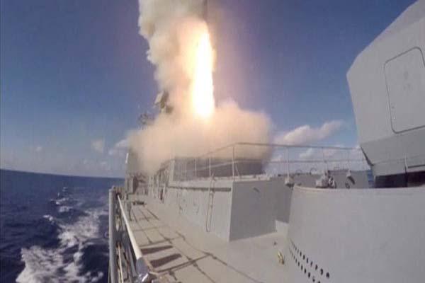 Rusya donanması IŞİD hedeflerini vurdu