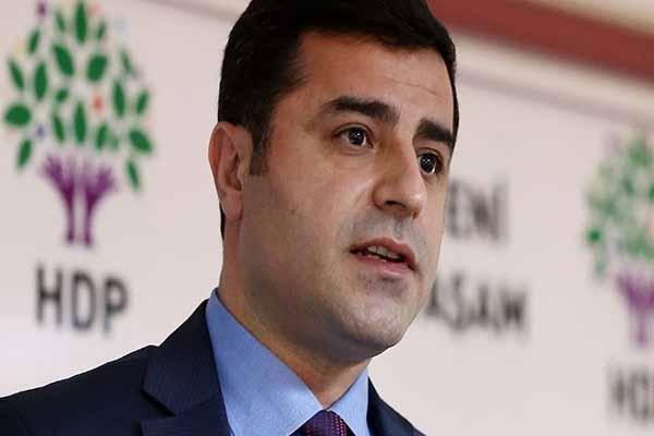 HDP Eşbaşkanı Demirtaş'tan flaş açıklamalar