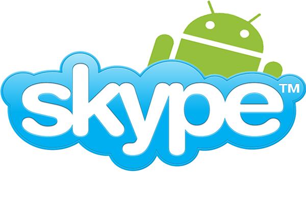 Android Skype için güncellendi