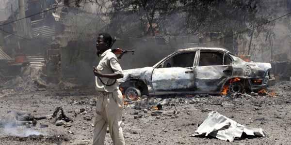 Somali'de düzenlenen bombalı saldırıda 5 kişi öldü, 5 kişi yaralandı