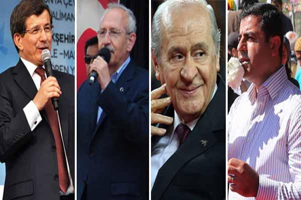 Parti liderleri oylarını hangi ilde kullanacak