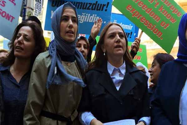 Sümeyye Erdoğan'ın katıldığı eylemde kargaşa yaşandı