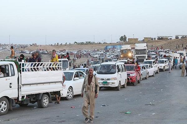 Musul'daki operasyon nedeniyle 34 binden fazla kişi göç ediyor