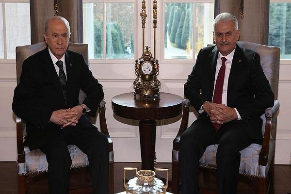 Başbakan Yıldırım ve Devlet Bahçelinin gecikmeli görüşmesinde neler yaşandı