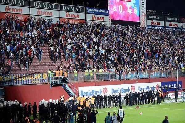 Trabzonspor-Fenerbahçe maçındaki olaylar nedeniyle soruşturma başlatıldı