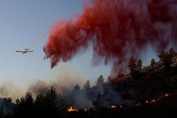 Dev yangın söndürülemiyor, Rusya, Yunanistan ve Hırvatistan'dan yardım istendi