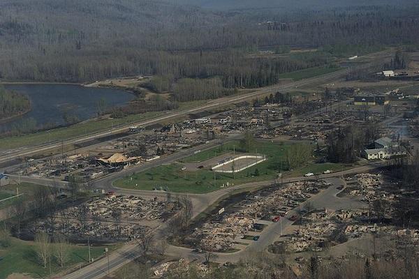 Kanada'daki dev yangının zararı 9 milyar doları buldu