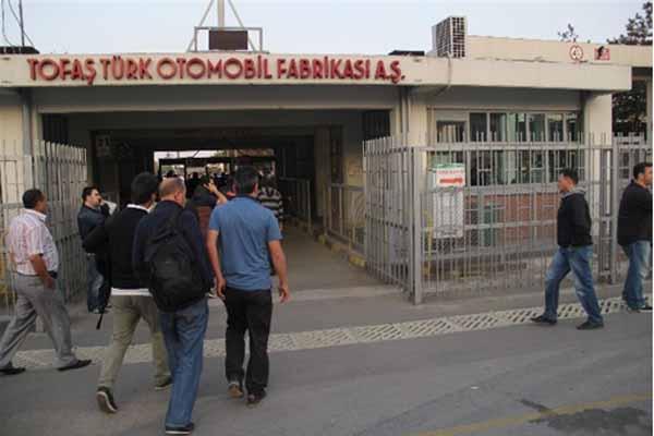 TOFAŞ'ta üretim sabah saatlerinde yeniden başladı