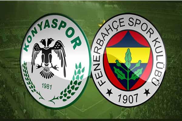 Konyaspor Fenerbahçe maçı canlı yayın bilgileri
