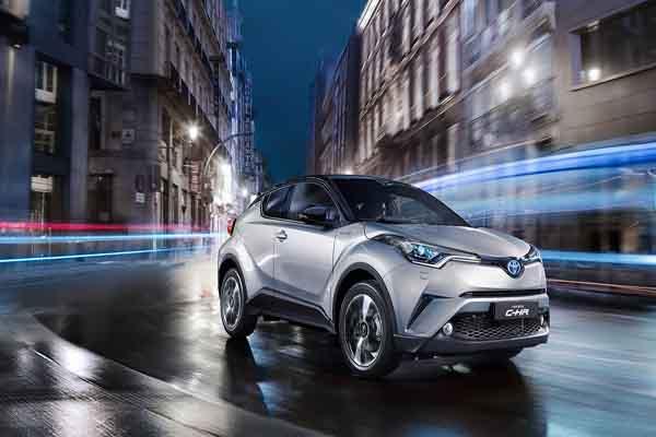 Toyota C-HR'ye Avrupa'dan büyük ilgi