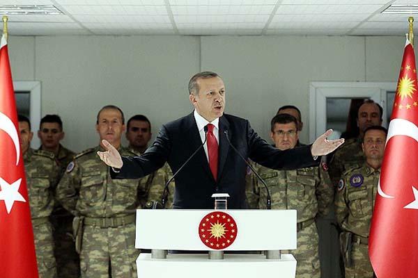Erdoğan, 'TSK insanlık dışı saldırılara boyun eğmez'