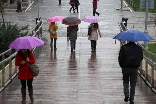 Türkiye geneli hava durumu, 19 Nisan 2015
