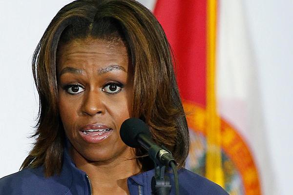 Michelle Obama, Donald Trump'u sert dille eleştirdi