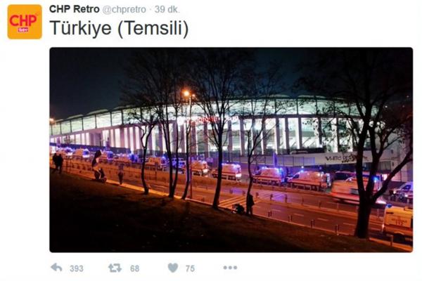 CHP Gençlik Kolları'nın saldırı sonrası yaptığı paylaşıma büyük tepki