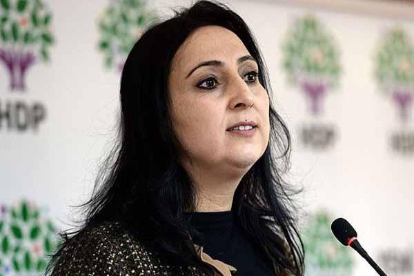 HDP Eş Genel Başkanı Figen Yüksekdağ'dan çarpıcı iddia