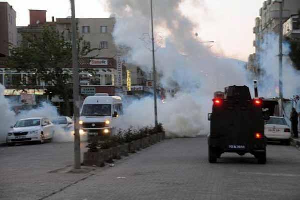 Cizre'de kaza sonucu gerginlik yaşandı