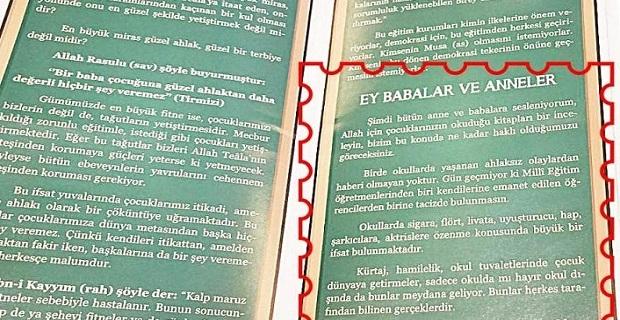 Türkiye'nin gündemine bomba gibi düşen broşür