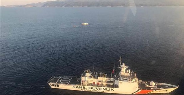 Antalya açıklarında facia, 9 göçmen öldü