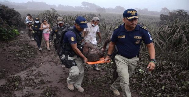 Guatemala'daki patlamada ölü sayısı artıyor